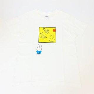 miffy ミッフィー Tシャツ XSサイズ Miffy×鳥獣戯画 額縁・おばけ 洋服 鳥獣戯画 グッズ