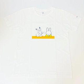 <img class='new_mark_img1' src='https://img.shop-pro.jp/img/new/icons15.gif' style='border:none;display:inline;margin:0px;padding:0px;width:auto;' />miffy ミッフィー Tシャツ Mサイズ Miffy×鳥獣戯画 隣人 洋服 鳥獣戯画 グッズ
