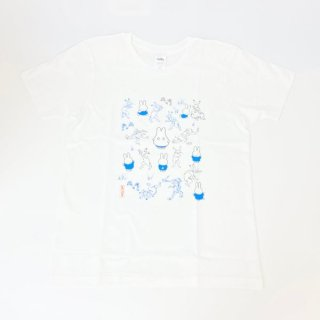 <img class='new_mark_img1' src='https://img.shop-pro.jp/img/new/icons15.gif' style='border:none;display:inline;margin:0px;padding:0px;width:auto;' />miffy ミッフィー Tシャツ Mサイズ Miffy×鳥獣戯画 みんな・いっぱい 洋服 鳥獣戯画 グッズ
