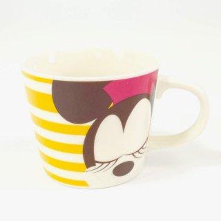 <img class='new_mark_img1' src='https://img.shop-pro.jp/img/new/icons15.gif' style='border:none;display:inline;margin:0px;padding:0px;width:auto;' />ディズニー ミニー マグ フェイス マグカップ コップ 食器 Disney イエロー グッズ 日本製