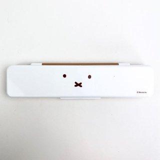 miffy ミッフィー 箸 スプーンセット 箸 スプーンセット ランチ用品 ホワイト グッズ 日本製