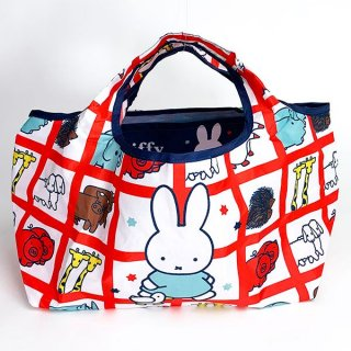 <img class='new_mark_img1' src='https://img.shop-pro.jp/img/new/icons15.gif' style='border:none;display:inline;margin:0px;padding:0px;width:auto;' />ミッフィー miffy ランチエコバッグ アニマル RD ランチ バッグ グッズ