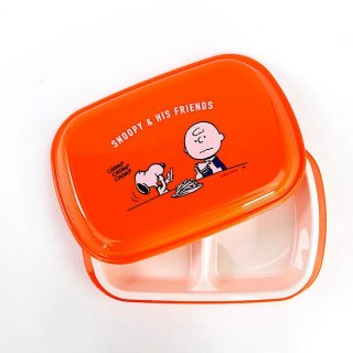 <img class='new_mark_img1' src='https://img.shop-pro.jp/img/new/icons15.gif' style='border:none;display:inline;margin:0px;padding:0px;width:auto;' />スヌーピー SNOOPY ランチプレート EAT プレート お皿 食器 キッチン ランチ オレンジ グッズ