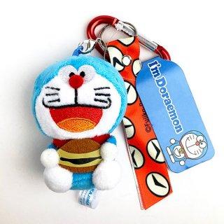 <img class='new_mark_img1' src='https://img.shop-pro.jp/img/new/icons15.gif' style='border:none;display:inline;margin:0px;padding:0px;width:auto;' />ドラえもん I'm Doraemon カラビナMC ドラえもん どら焼き キーホルダー ストラップ カラビナ マスコット レッド