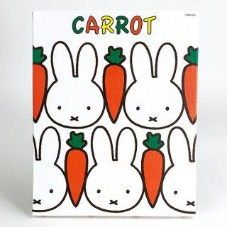 ミッフィー miffy キャンバスアート CARROT ホワイト インテリア アート グッズ(MCD)