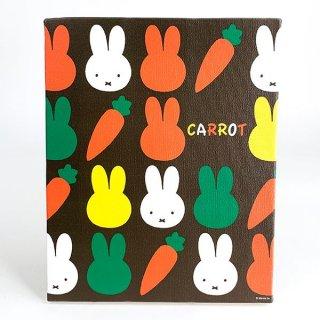 ミッフィー miffy キャンバスアート CARROT ブラウン インテリア アート グッズ(MCD)
