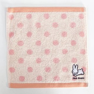 <img class='new_mark_img1' src='https://img.shop-pro.jp/img/new/icons15.gif' style='border:none;display:inline;margin:0px;padding:0px;width:auto;' />ミッフィー miffy ワンポイント刺繍ハンカチ PK うさぎ タオル ハンカチ ピンク グッズ