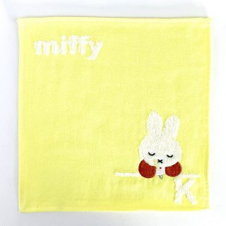 <img class='new_mark_img1' src='https://img.shop-pro.jp/img/new/icons15.gif' style='border:none;display:inline;margin:0px;padding:0px;width:auto;' />ミッフィー miffy イニシャルタオル K タオル ハンカチ イエロー グッズ