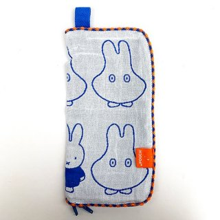 <img class='new_mark_img1' src='https://img.shop-pro.jp/img/new/icons15.gif' style='border:none;display:inline;margin:0px;padding:0px;width:auto;' />ミッフィー miffy どっとポーチ 接触COOL冷感 おばけ タオルポーチ タオルカバー グッズ