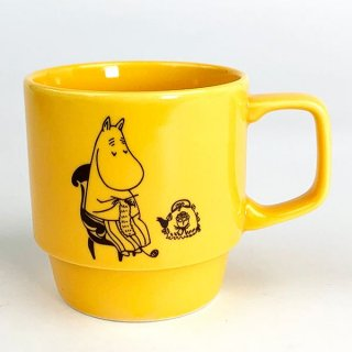 <img class='new_mark_img1' src='https://img.shop-pro.jp/img/new/icons15.gif' style='border:none;display:inline;margin:0px;padding:0px;width:auto;' />ムーミン Moomin ムーミンママ マグ コップ カップ 食器 オレンジ グッズ 日本製
