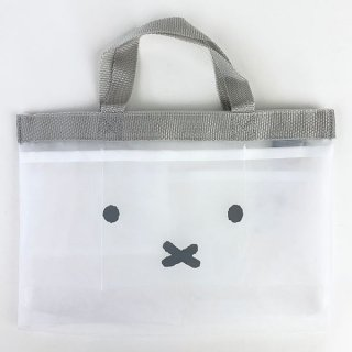 <img class='new_mark_img1' src='https://img.shop-pro.jp/img/new/icons15.gif' style='border:none;display:inline;margin:0px;padding:0px;width:auto;' />ミッフィー  miffy バッグインバッグ WH 化粧 小物入れ コスメ入れ 化粧ポーチ 小さめ コンパクト 小物 ポーチ コスメケース