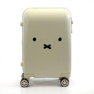 店内セール開催中!10%オフ対象商品 ミッフィー miffy スーツケース フェイス WH キャリーケース  ホワイト グッズ