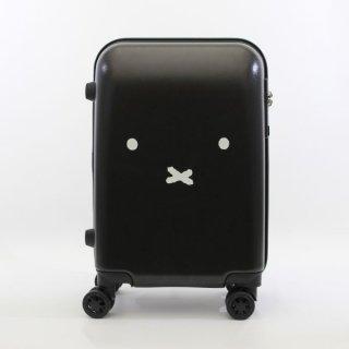 ミッフィー miffy スーツケース フェイス BK キャリーケース  ブラック グッズ