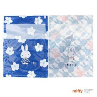 店内セール開催中!10%オフ対象商品 ミッフィー miffy  圧縮袋 フラワー  トラベル ブルー グッズ 日本製