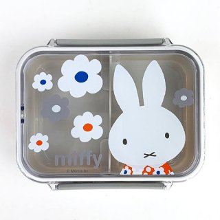 <img class='new_mark_img1' src='https://img.shop-pro.jp/img/new/icons15.gif' style='border:none;display:inline;margin:0px;padding:0px;width:auto;' />ミッフィー miffy 食洗機対応タイトウエア miffyモノトーンフラワー キッチン 保存容器 グッズ 日本製