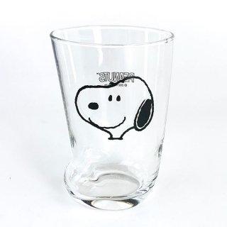 店内セール開催中!10%オフ対象商品 スヌーピー PEANUTS ソックスグラス L フェイス コップ グラス マグ プレゼント