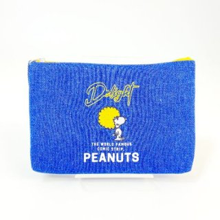 <img class='new_mark_img1' src='https://img.shop-pro.jp/img/new/icons15.gif' style='border:none;display:inline;margin:0px;padding:0px;width:auto;' />スヌーピー PEANUTS funky 3ポケットポーチ Delight ポーチ 小物入れ ネイビー グッズ  (MCOR)