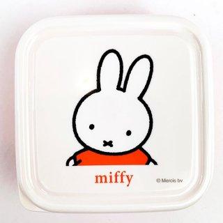 ミッフィー miffy シールボックス S お弁当箱 保存容器 オレンジ  日本製
