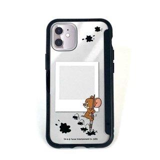 店内セール開催中!10%オフ対象商品 トムとジェリー ジェリー SHOWCASE+ iPhone12mini スマホカバー アイフォンケース ブラック グッズ