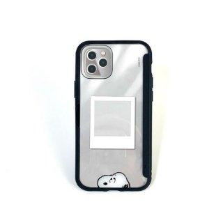 <img class='new_mark_img1' src='https://img.shop-pro.jp/img/new/icons15.gif' style='border:none;display:inline;margin:0px;padding:0px;width:auto;' />PEANUTS スヌーピー SHOWCASE+ iPhone12/12Pro スマホカバー アイフォンケース ブラック