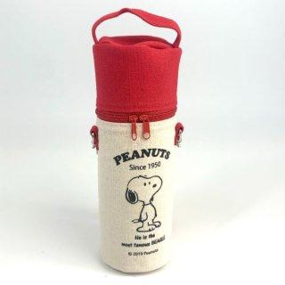 スヌーピー Peanuts ドリンクホルダー カー用品 レッド