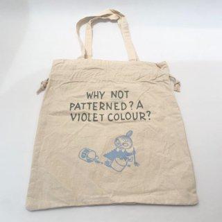 店内セール開催中!10%オフ対象商品 ムーミン 巾着トートバッグ ベージュ リトルミイ かばん おでかけ