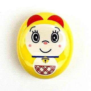 ドラえもん ドラミ 豆箸置き イエロー 箸置き    日本製(MCD)