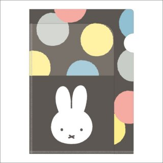 <img class='new_mark_img1' src='https://img.shop-pro.jp/img/new/icons15.gif' style='border:none;display:inline;margin:0px;padding:0px;width:auto;' />ミッフィー miffy A5クリアホルダー(3ポケット)オータムカラー    日本製