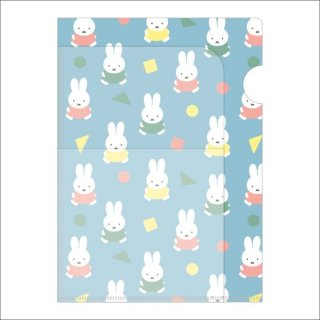 <img class='new_mark_img1' src='https://img.shop-pro.jp/img/new/icons15.gif' style='border:none;display:inline;margin:0px;padding:0px;width:auto;' />ミッフィー miffy A5クリアホルダー(3ポケット)ブルーオータムカラー    日本製