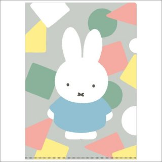 <img class='new_mark_img1' src='https://img.shop-pro.jp/img/new/icons15.gif' style='border:none;display:inline;margin:0px;padding:0px;width:auto;' />ミッフィー miffy A4クリアホルダー(シングル)グレーオータムカラー    日本製