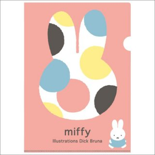 <img class='new_mark_img1' src='https://img.shop-pro.jp/img/new/icons15.gif' style='border:none;display:inline;margin:0px;padding:0px;width:auto;' />ミッフィー miffy A4クリアホルダー(シングル)ピンクオータムカラー    日本製
