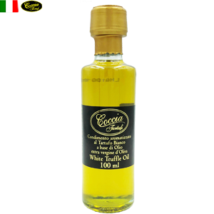 天然 白トリュフオイル White Truffle flavored Extra virgin Olive Oil  | COCCIA TARTUFI [ コッチャ タルトゥーフィ社]