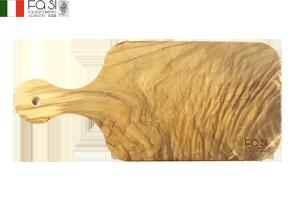 オリーブウッド カッティングボード 自然素材(大サイズ)manico dritto piccolo-31,5×14�