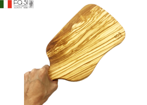 曲線美 オリーブウッド カッティングボード 自然素材(中サイズ)manico curvo medio-38×18�