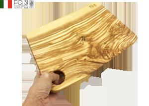 1点もの オリーブウッド カッティングボード 自然素材 medio-30×18/25�