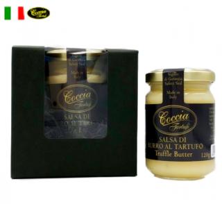 【ギフトボックス付】トリュフ バター Truffle Butter 120g  | COCCIA TARTUFI [ コッチャ タルトゥーフィ社]