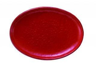 M.STYLE イタリア製:大皿 シエナ 食器 楕円皿 33.5cm 陶器