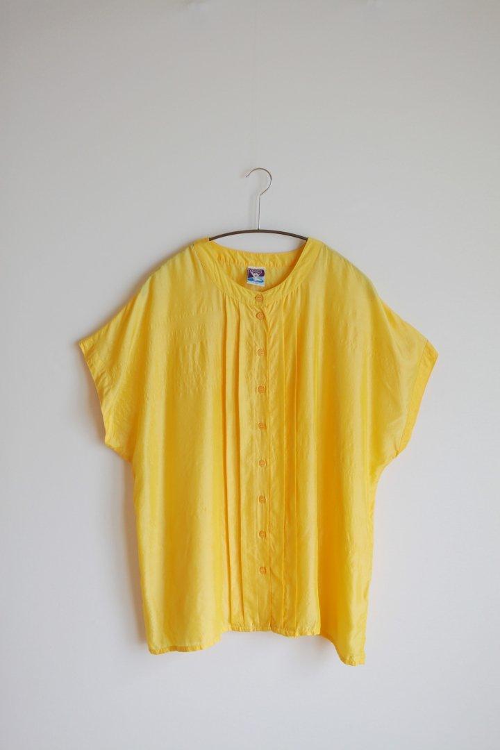 Silk yellow blouse