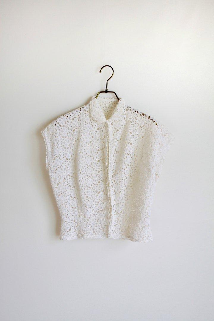 50s cotton blouse