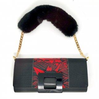 KIMONO BAG<RED&BLACK>