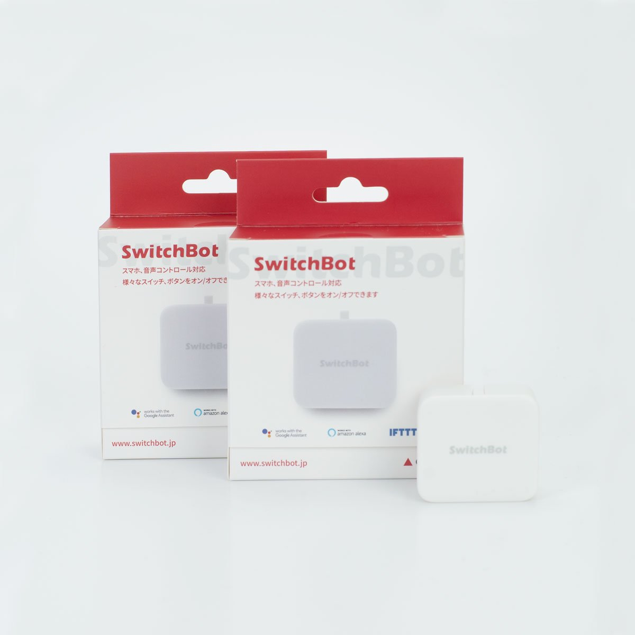 Switch Bot スイッチボット(ホワイト)2個セット