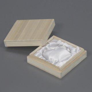念珠箱 正方形ホm 白ツメ無 W81D81H25