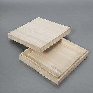 桐箱 正方形ホm W145D145H30