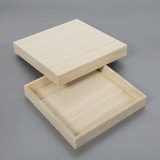 桐箱 正方形カm W145D145H20