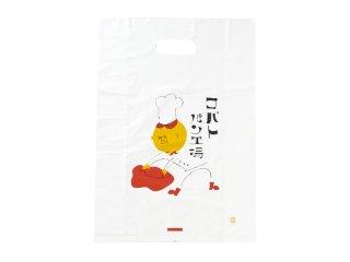 コバトパン工場 オリジナル手提げ袋(ビニール)