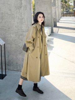 ブリティッシュ スタイル シンプル 春秋 アウター コート 2色 (66009121)