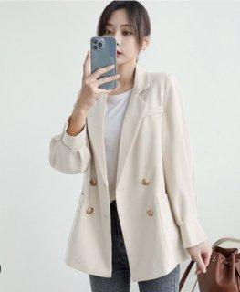 シンプル 綺麗め 無地ジャケット 3色 (69337657)