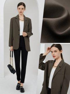 新作 オフィス 大人 上品 シンプル スーツ ジャケット (70043421)
