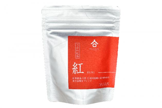 【佐川町産・紅茶「紅(BENI)」】6杯分/幻の品種「はつもみじ」をブレンド/お山のお茶「明郷園」