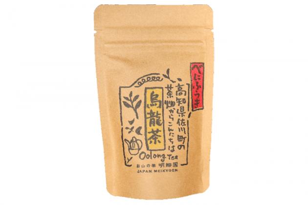 【佐川町産・烏龍茶「べにふうき」】30g/手摘み/お山のお茶「明郷園」